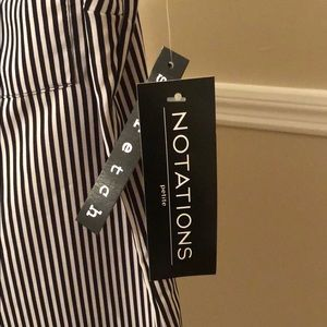 Notations Tops - NOTATIONS PETITE BLOUSE - New with Tags